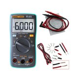 ANENG AN8002 Digital True RMS 6000 Counts Multimeter AC/DC Current Voltage Frequency Resistance Temperature Tester ℃/℉ + Test Lead Set