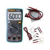 ANENGAN8002デジタルTrueRMS6000カウントマルチメータAC/DC電流電圧周波数抵抗温度テスター℃/℉+テストリードセット
