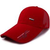 Mens Summer Mesh Strapback Dad Hats Snapback Baseball Caps