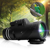IPRee® 40x60 Monocular HD Optic BAK4 Day Night Vision Telescope 1500m/9500m Outdoor Camping Hiking