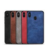 Mofi Honorable 3D Technology Pattern PU Leather Soft TPU Protective Case for Xiaomi Mi8 Mi 8 Non-original