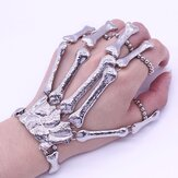 Halloween Đạo cụ Punk Finger Bracelet Gothic Skull Skeleton Bone Nightclub Party Trang trí