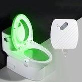 24 Cores Movimento Sensor LED Noite Luz Toalete Luz Tigela Banheiro Lâmpada