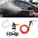 12V 60W Electric Car Wash Pomp Cleaner Washer drukspuit Tool Kit