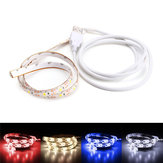 50CM USB Pure White Warm White Red Blue 2835 SMD impermeável LED Strip Backlight para casa DC5V