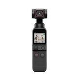DJI OSMO POCKET 2 FPV Gimbal 3-Axis Handheld Stabilizer FOV 93 Degree Camera 64MP AI Editor Stereo 4K HD 60fps Recording