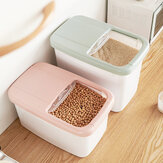 20KG Food Storage Box Rice Kitchen Storage Container Grain Storage Cat Litter Toys Ttorage Box for Travel Camping