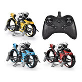 R22 Flying Motorcycle 2-In-1 Land/Air Mode Racing Motorbike 2.4G RC Drone Quadcopter