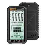 ANENG 620A 4.7-inch Large LCD Screen Automatic + Manual Intelligent True RMS Digital Multimeter Resistance Diode Capacitance Temperature Frequency Test