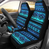 Car Front Seat Cover Protector Cushion Print Pattern Sedan SUV Truck Universal