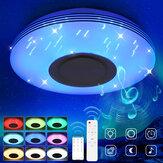 110-240V LED RGB Music Lâmpada de teto inteligente Wifi Bluetooth APP / Controle Remoto Luz de teto inteligente cozinha quarto