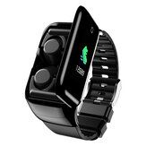 M7 TWS bluetooth Earphone Smart Watch Stereo Wireless Earbuds Wristband 1.14inches Screen Heart Rate Test Smart Headset