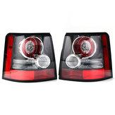 लैंड रोवर रेंज रोवर स्पोर्ट 2005-2013 के लिए 2 पीसीएस कार रियर एलईडी टेल लाइट लैंप