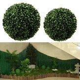 Künstlicher Ball-Topiary des grünen Grases hängende Garland Home Yard Wedding Decorations