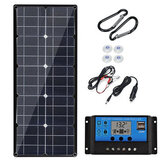 30W Monocrystalline Solar Panel with Controller Foldable Rechargeable Portable Solar Panel for Outdoor Camping Mountaineering
