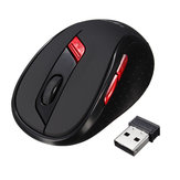 HXSJ X40 2400DPI 6 Botões ABS 2.4GHz Wireless Optical Gaming Mouse