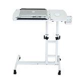 الكمبيوتر المحمول كسول مكتب ارتفاع قابل للتعديل سرير قابلة للطي رفع الدورية السرير المحمول الكتابة الإبداعية للمنازل والمكاتب
