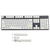 Conjunto de teclas de ponto de 120 teclas com perfil de cereja PBT teclas de sublimação para teclados Mecânico