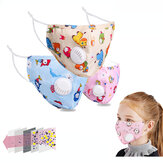 Kids Anti PM2.5 Dust-proof Breathable Face Mask Disposable Protective Mask Cute Printed Non Woven Mask
