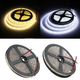 5M 15W DC12V 600 SMD 2835 Waterproof IP65 White/Warm White Tape LED Flexible Strip light