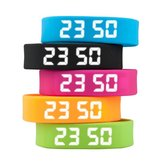 T5 intelligente bracciale sportivo data auto podemeter LED visualizzazione cinque colori degli uomini delle donne orologio da polso