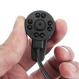Mini CCTV a raggi infrarossi Night Vision DIY fotografica SPY Hidden Wired IR fotografica