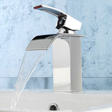 Bathroom Sink Faucet Ordinary Copper Waterfall Single-style Hot And Cold Mixer Tap