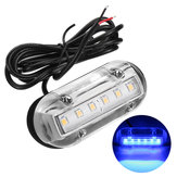 12V Marine Yacht barco Alta intensidad Impermeable LED Underwater Light Blue