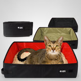 Portable Car Outdoor Travel Goods Pet Mat hi Phi Oxford Cloth Waterproof Collapsible Litter Box