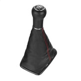 5/6 Speed Gear Shift Knob with Gaitor Boot Dust Cover PU Leather For VW Golf 4 Bora