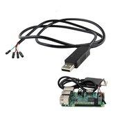 Cavo per porta seriale di debug da USB a TTL per Raspberry Pi 3B 2B / porta COM