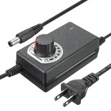 Excellway® 9-24V 1A 24W 1.1M Power Supply Motor Speed Controller Adjustable AC/DC Adapter