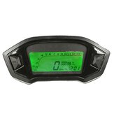 Motorrad Digitaler Kilometerzähler Tachometer Tachometer LCD Kilometerzähler 7 Farben Hintergrundbeleuchtung