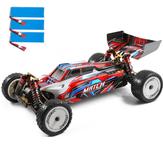 Wltoys 104001 Kilka akumulatorów 2200 mAh RTR 1/10 2.4G 4WD 45 km / h Metalowe podwozie RC Modele pojazdów samochodowych Zabawki dla dzieci