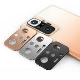 Bakeey dla Xiaomi Redmi uwaga 10 Pro tylny obiektyw telefonu Protector odporny na zarysowania metalowy pierścień aparatu ze stopu aluminium nieoryginalny