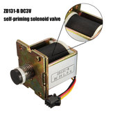 MACRO miedziany DC 3V gazowy podgrzewacz wody zawór elektromagnetyczny samozasysający zawór podgrzewacz wody akcesoria