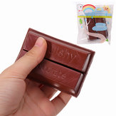 YunXin Squishy Chokolade 8cm Sweet Slow Rising Med Packaging Collection Gave Decor Toy