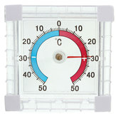 Window Mounted Temperature Thermometer for Garden Greenhouse Home Office Room