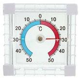 Bahçe Sera Ev Ofis Odası için Pencere Monte Sıcaklık Termometre