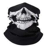 Skull Multi Use Head Wear Cappello Sciarpa Face Maschera Cap Moto