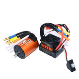 Surpass Hobby Wasserdicht 3650 4300KV Brushless RC Auto Motor mit 60A ESC Set für 1/10 RC Auto