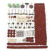 350pcs Rotary Tool Set d'outils de meulage ponçage kit de polissage