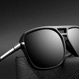 Fashion Men's Sunglasses Retro Large Frame Polarized Sunglasses For Outdoor Driving Travel