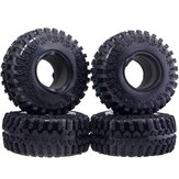 AUSTAR T3021 2.2 Inch RC Car Tires For 1/10 4WD Rock Climbing Rubber
