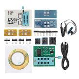 EZP2019 Prise en charge du programmeur USB SPI haute vitesse 24 25 93 EEPROM 25 Flash Puce BIOS + 9 adaptateurs