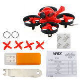 X36S 65 mm 5,8 G CMOS 800TVL 40CH 25 mW Micro FPV F3 FC Coreless Racing RC-Drohne Quadcopter BNF