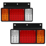 Par 12V 50LED Car Rear Tail Light Lamp para ISUZU Elf Caminhão NPR NKR NHR 1984-up
