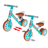 2-In-1 Children Scooter Tricycle Baby Balance Bike Ride On Toys Kids Bike With Foot Pedal 1-3 Years Old Sliding Scooter
