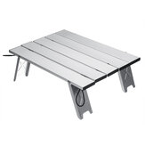 Portable Outdoor Folding Table Chair Camping Aluminium Alloy Picnic Table Waterproof Ultra-light Durable Table 40x29x12cm