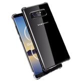 BakeeyHavaYastığıKöşeleriŞeffafDarbelere Dayanıklı Soft TPU Kılıf için Samsung GalaxyNote8